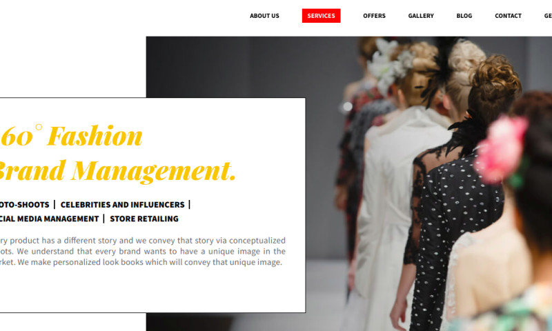 Goldenmace IT Solutions - 6Degree : End-to-end brand management platform for Fashion Designers