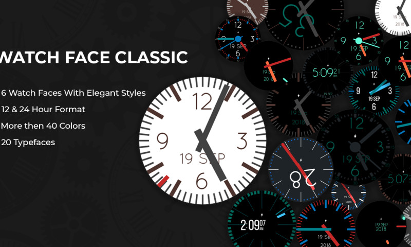 Goldenmace IT Solutions - Watchfaces Classic for Android Wear Smart Watches App