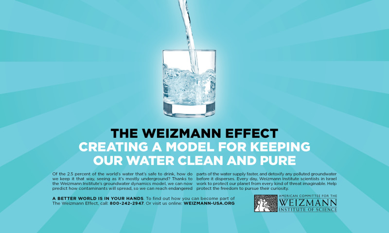"""IPNY - The American Committee for The Weizmann Institute of Science,""""The Weizmann Effect: A better world is in your hands"""""""