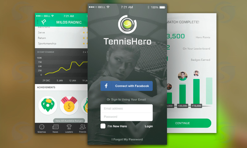Smartym Pro - Tournament / Challenge app for tennis players