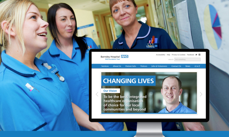 Graham Shapiro Design Ltd (GSD®) - Barnsley Hospital NHS Trust
