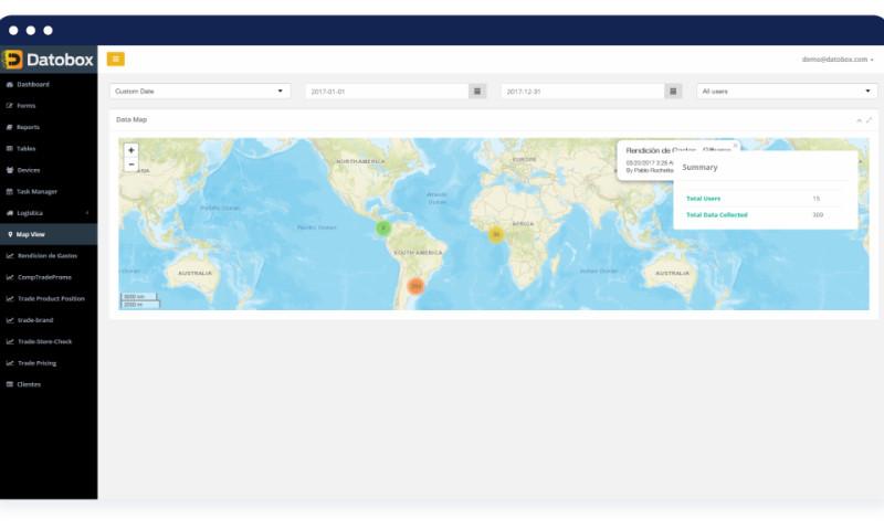Techuz InfoWeb - FieldWork Tracking App