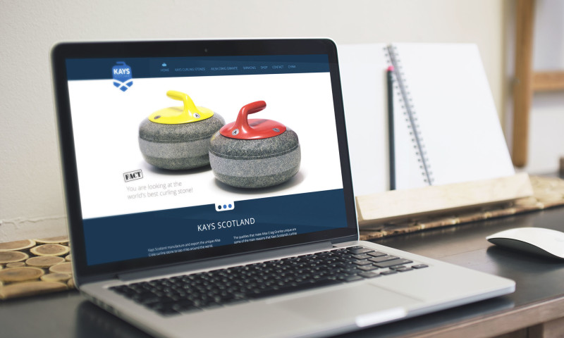 Launch Digital - Kays Curling