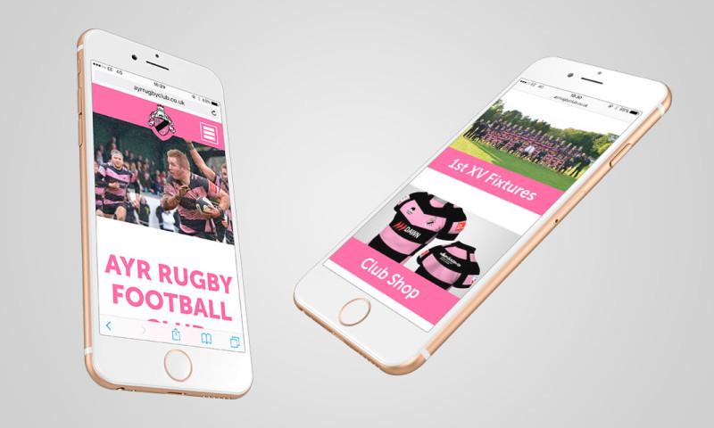 Launch Digital - Ayr Rugby Club