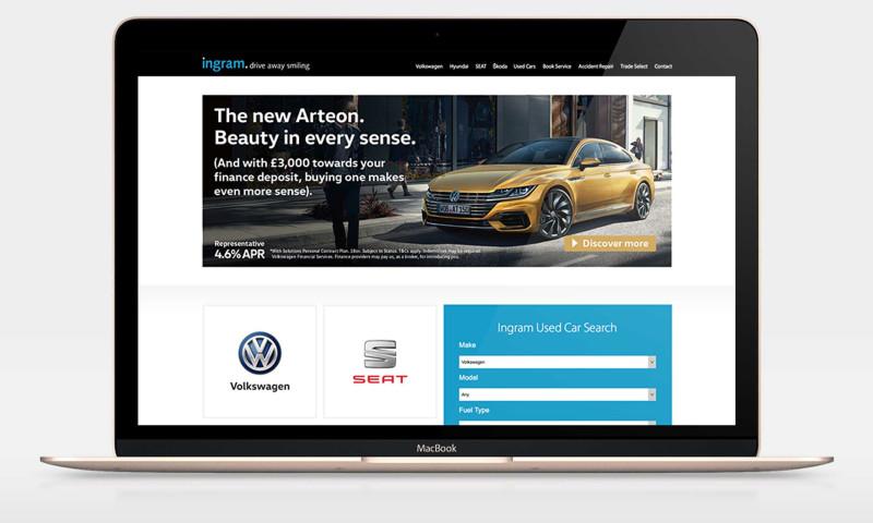 Launch Digital - Ingram Motoring Group
