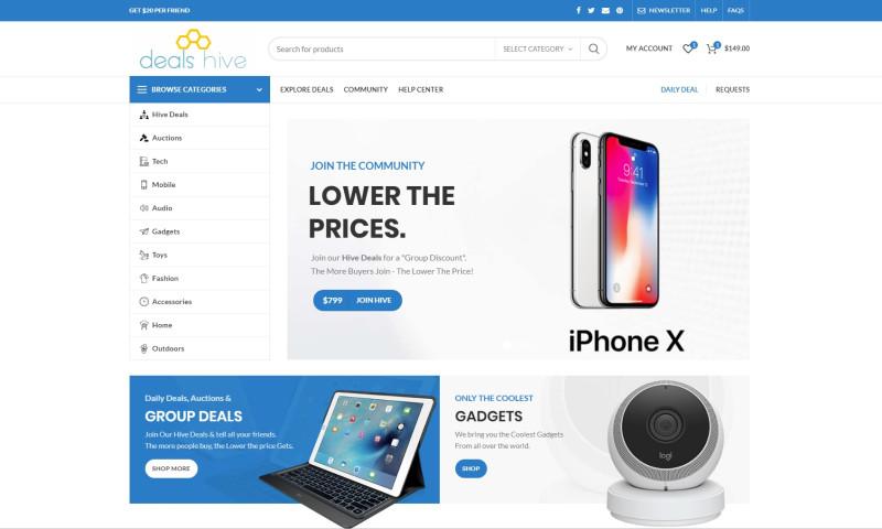 Advertise Robot - Custom eCommerce Website