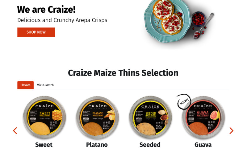 Screen Media Group - Craize Arepas