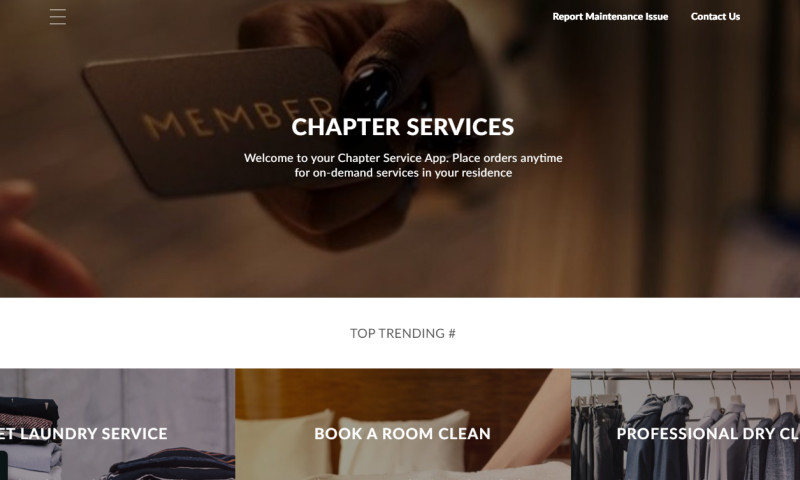Web Experts - CHAPTER APP
