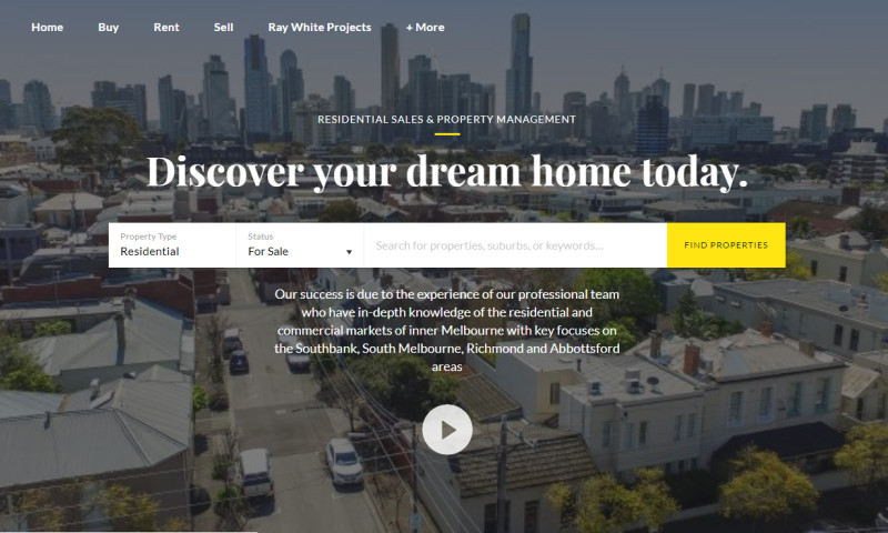 Web Experts - RAY WHITE SOUTH BANK