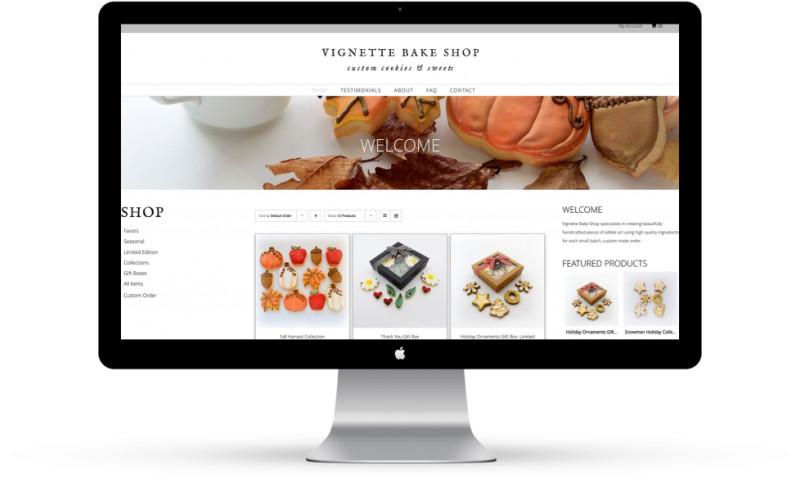 Mint Design Agency - Vignette Bake Shop