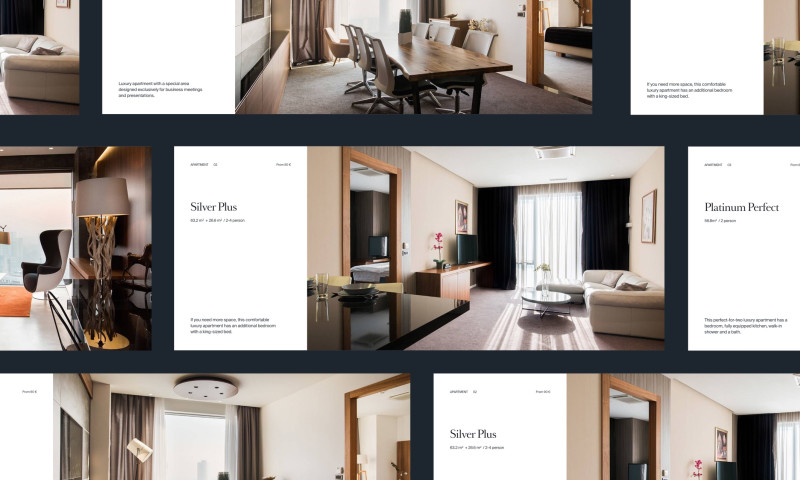 Bornfight - Golden Center Apartments - Website