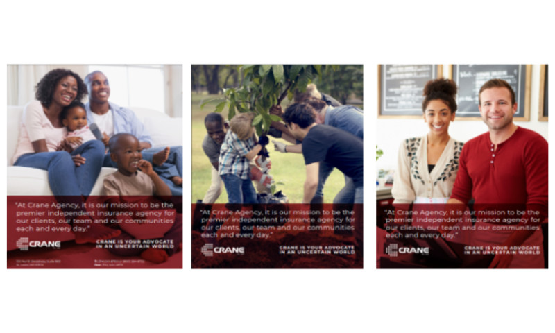 Afflecto Media Marketing - Crane Agency Branding Project