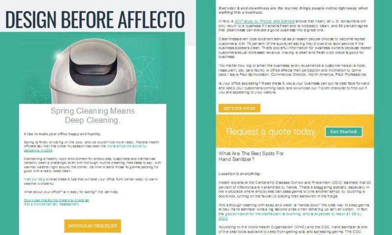 Afflecto Media Marketing - Buildingstars Email Design and Management