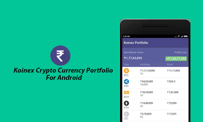 Angular Minds - Koinex Crypto Currency Portfolio Tracking app