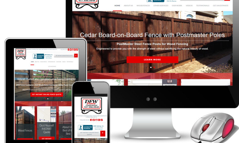 Red Spot Design - DFW Fence Contractor