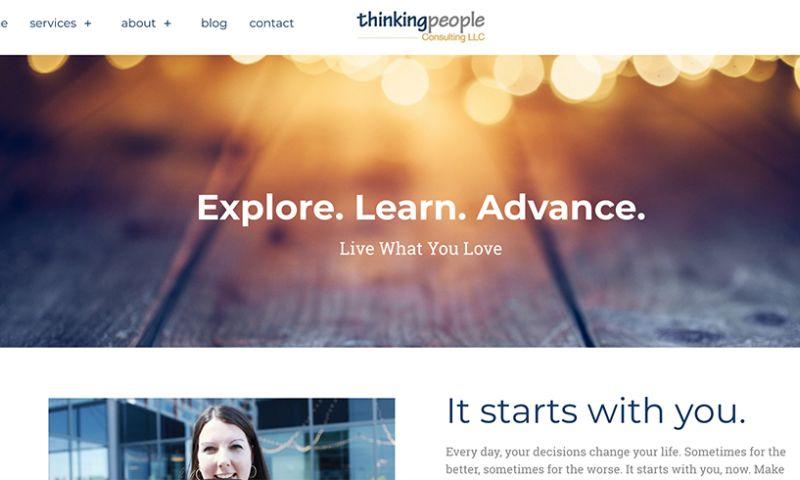 Bombastic Web Design and Marketing - Thinking People Consulting