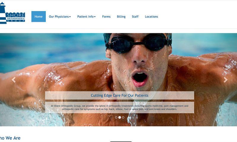 Bombastic Web Design and Marketing - Shore Orthopedics