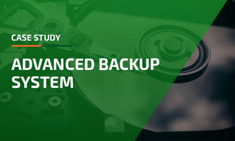 Apriorit - Advanced Backup System