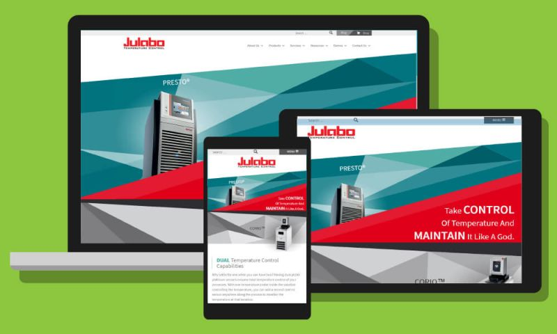 Mad Icarus Media - Julabo USA Re-brand and Website build