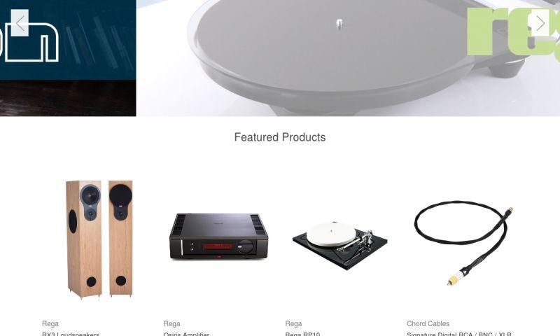 407 Marketing - The Sound Organisation Website Redesign