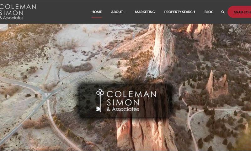 Mountaintop Web Design - Coleman Simon & Associates