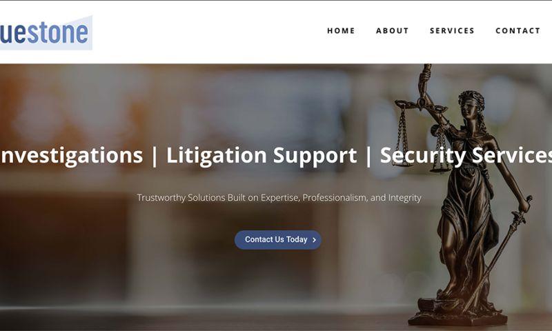 Mountaintop Web Design - Bluestone Investigative & Risk Solutions