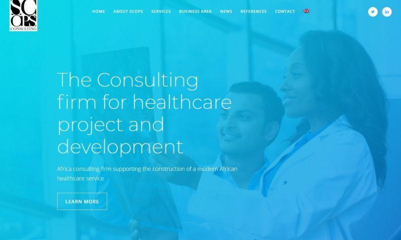 Sociolus Digital - Medical Group Web Design