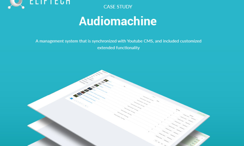 ELIFTECH - Audiomachine – Music Production Collective