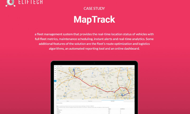 ELIFTECH - MapTrack - Corporate Vehicle and Asset Management Solution