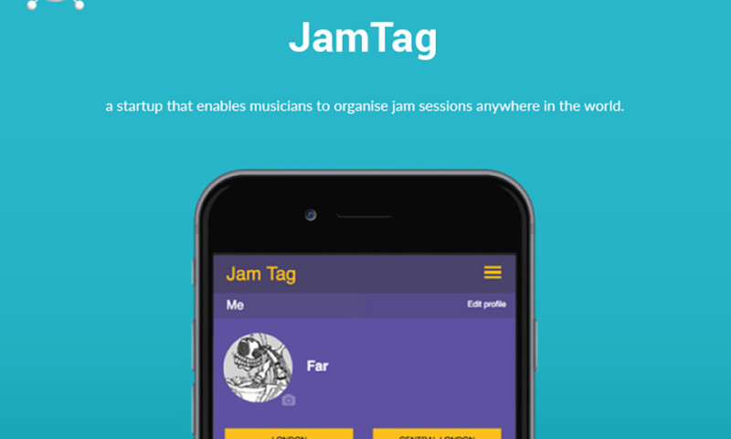 ELIFTECH - JamTag – Social Network for Musicians