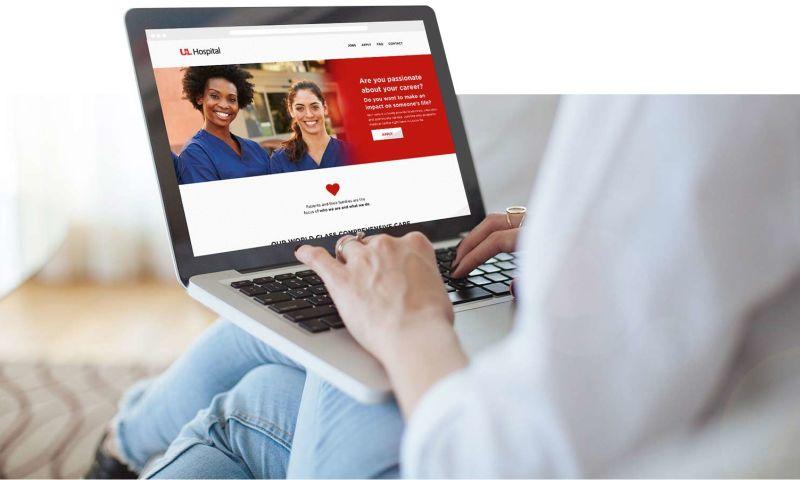 LEAP Spark - UofL Hospital Social Campaign & Website Build