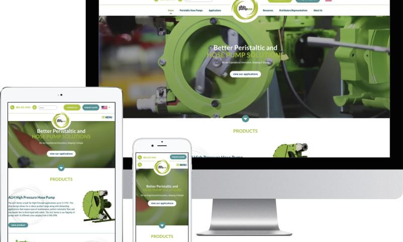 TopSpot - Albin Pump Website