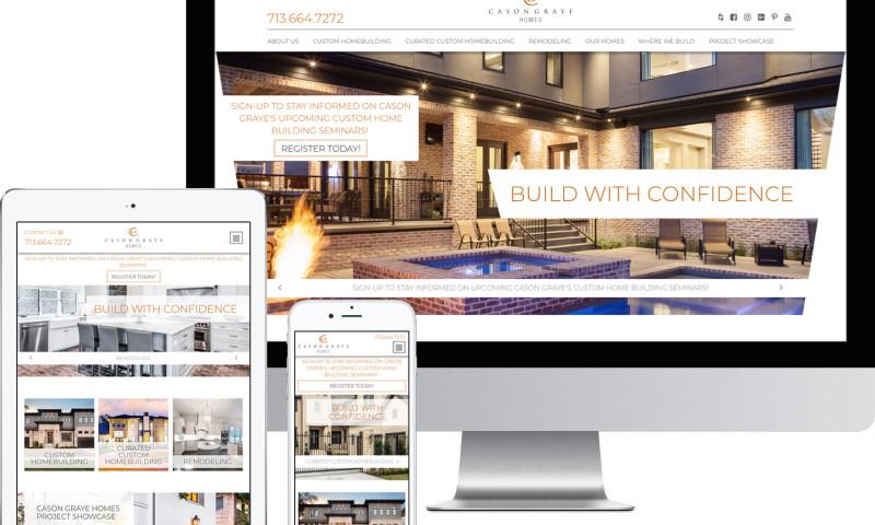 TopSpot - Cason Graye Homes Website