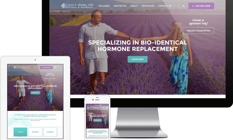 TopSpot - Blades Wellness Website