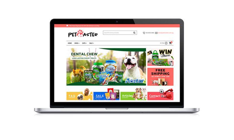 8CLICKS Pte Ltd - Petmaster