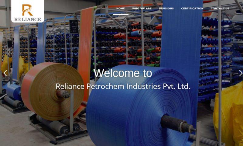 Web Artizum - Reliacne Petrochem