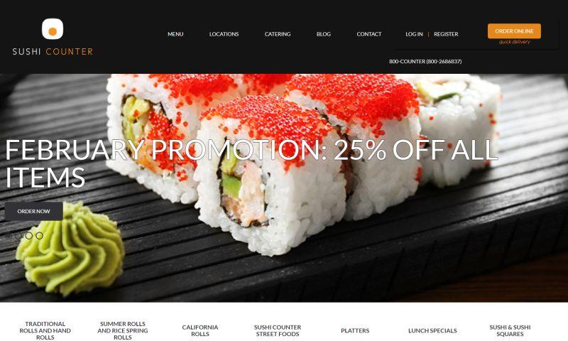Grow Digital Services Ltd - SUSHI COUNTER