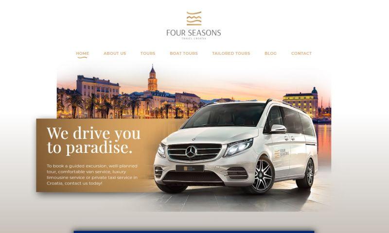 Mania Marketing - Web - Travel agency in Croatia