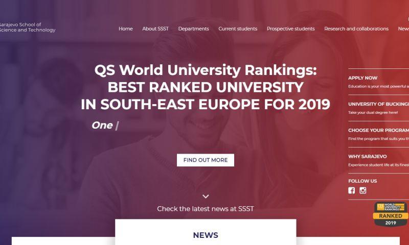 Mania Marketing - Web - University site
