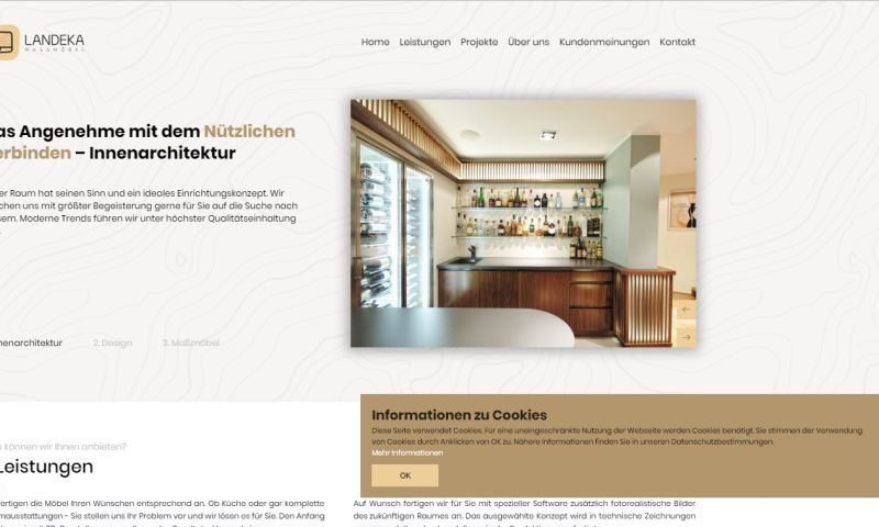 Mania Marketing - Web - Austria furniture producer