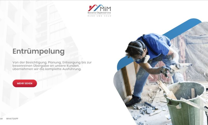 Mania Marketing - Web - Cleaning service in Germany