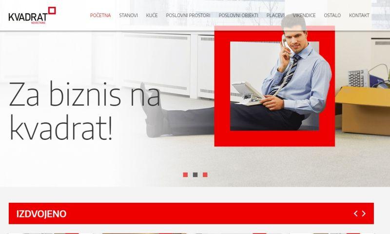 Mania Marketing - Web - Real estate agency