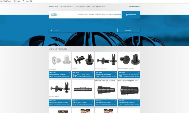 Mania Marketing - Web - Car parts