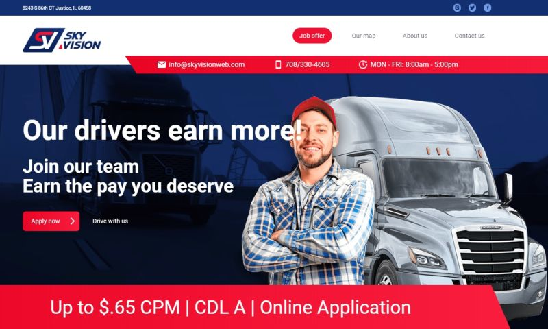 Mania Marketing - Web - Chicago truck company