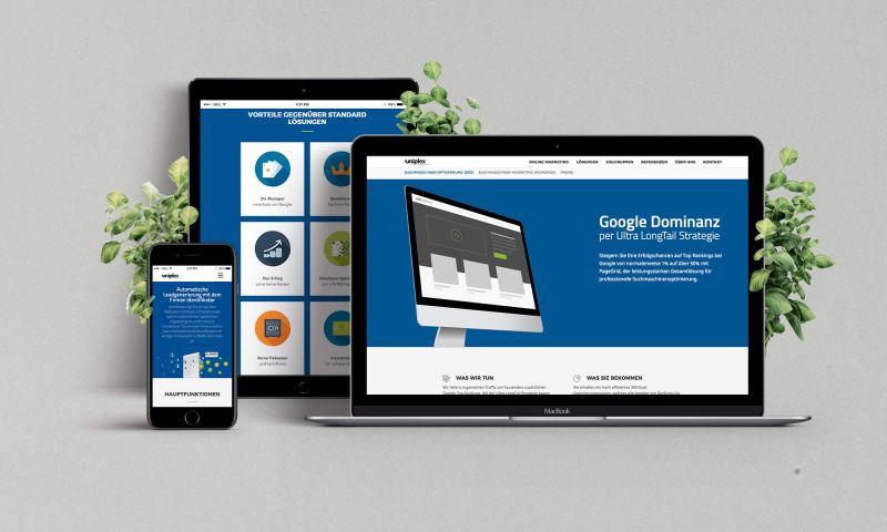 Evocreative - Uniplex website