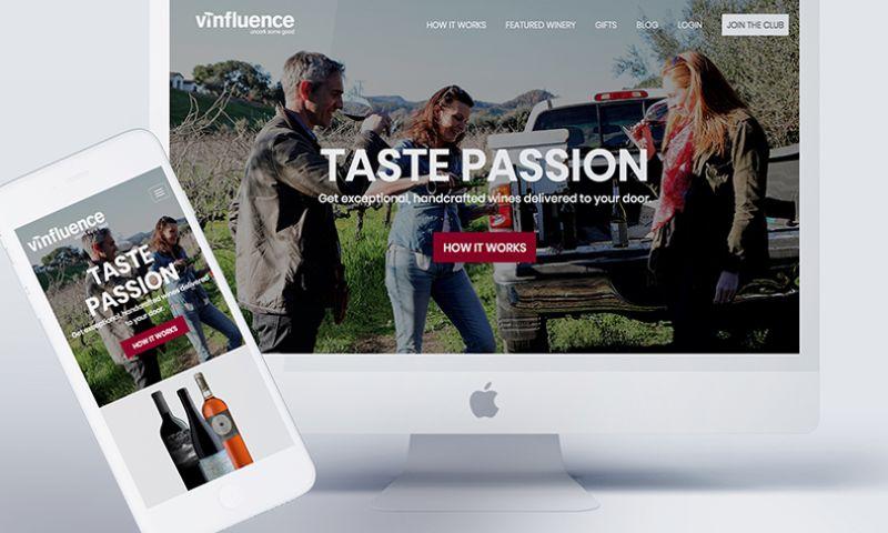 Transfuture - Brand and Web Development for Startup Wine Club