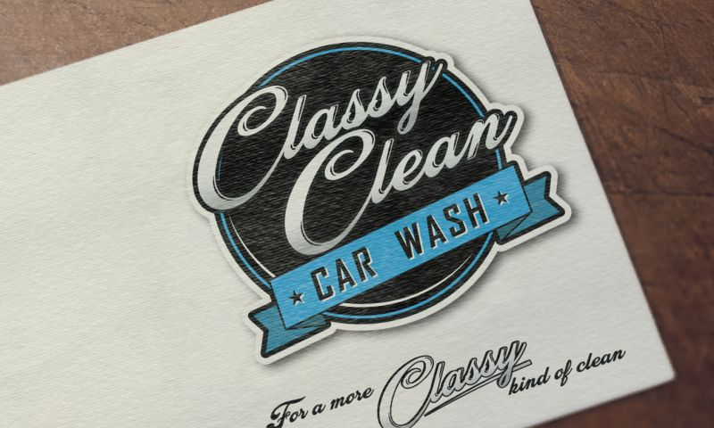 Black Fig Jam Graphic & Web Design - Classy Clean Car Wash