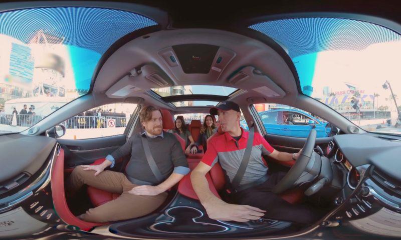 Vanishing Point Media - Toyota Camry Thrill Ride