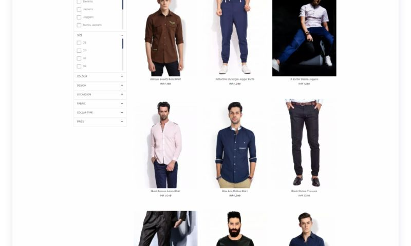 Techuz InfoWeb - E-commerce ( Fashion Industry)