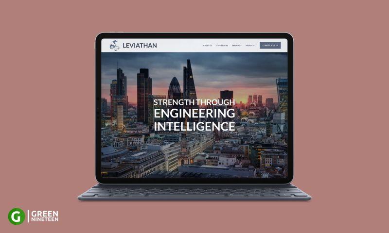 Green Nineteen - Website design for an engineering firm